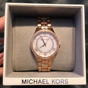 Michael Kors Lauryn Rose Gold Watch